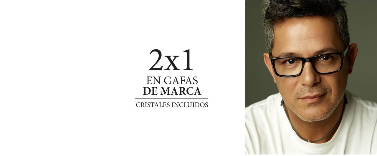 2 X 1 EN GAFAS DE MARCA
